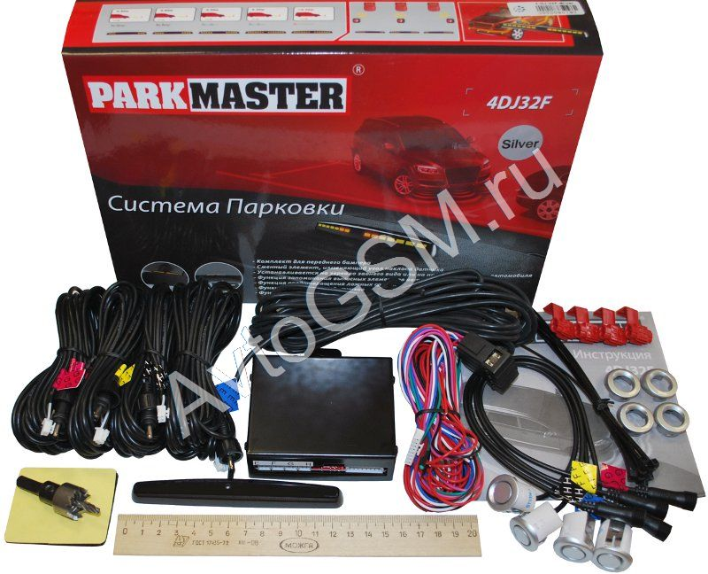 ParkMaster 4-DJ-32F (серебристые датчики)