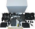 Парковочная система PHANTOM PS-2550 (8 черных датчиков) для головных устройств PHANTOM DVM-xxxxG HDi с возможностью подключения камеры заднего вида