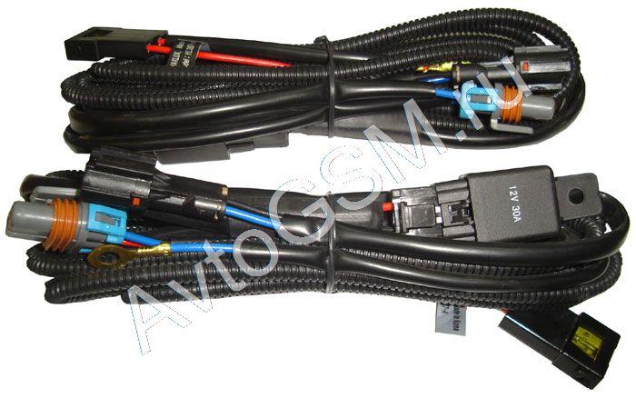 Sho-me Комплект реле-кабелей MaxluxКомплектующие для ксенона/биксенона<br>Корея 2шт.. Провод-реле Maxlux для передачи питания от аккумулятора автомобиля. В комплекте 2 шт. Подходит для ксенона Sho-Me, Silver Stone, Infolight, Bagira, i-Mego.<br>