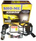 Мото-биксенон Sho-Me Super Slim H4 6000K с корейской лампой
