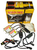 Ксенон Sho-Me Super Slim HB1 9004 + галоген на дальний 6000K