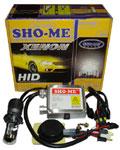 Мото-биксенон Sho-Me H4 6000K с корейской лампой
