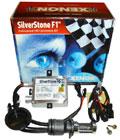 Мото-биксенон Silver Stone F1 H4 6000K с корейской лампой