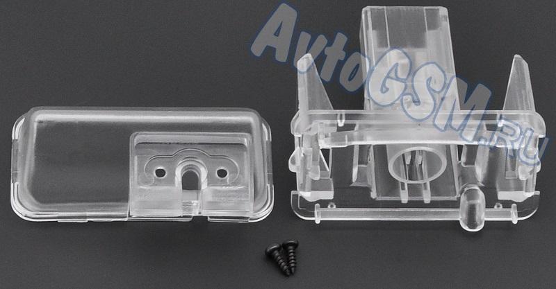 SPARK CI5Комплектующие к камерам заднего вида<br>на автомобиль Citroen C4L DS4 2013 для камеры заднего вида Спарк Spark тип A, В, С, D Внимание!!!! Распродажа. Данное крепление позволяет без существенных вмешательств в конструкцию автомобиля произвести монтаж камеры Спарк заднего обзора типов A, B, C, D. Установка производится взамен плафона подсветки гос. номера. Крепление совместимо с автомобилями Citroen C4L (DS4) (2013).<br>