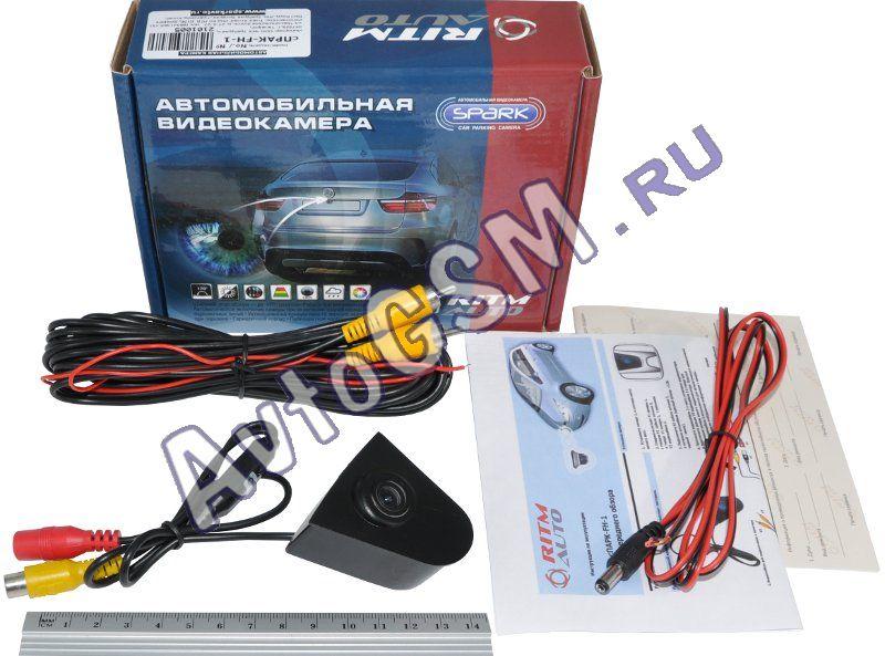 SPARK Камера FH-01Камеры переднего и бокового обзора<br>. Спарк (Spark) T01-F - это камера переднего обзора, которая предназначена для установки в логотип автомобиля Honda. Данная камера выполнена в пылевлагозащищенном корпусе, имеет большой угол обзора (170 град.) и может быть использована при различных погодных условиях. Отдельно стоит отметить высокую световую чувствительность камеры (0.02 LUX), которая позволяет детально рассмотреть объекты даже в условиях ограниченного освещения.<br>