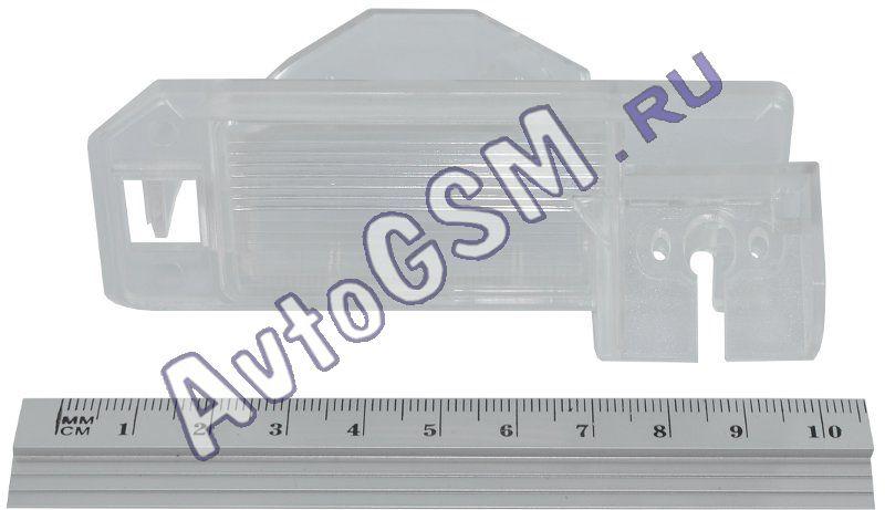 SPARK крепление MI5Комплектующие к камерам заднего вида<br>. Данное крепление предназначено для совместного использования с камерой заднего вида сПАРК (SPARK) (тип A, В, С, D). С помощью данного крепления Вы сможете установить камеру заднего вида в штатное место Вашего автомобиля вместо фонаря освещения номерного знака.<br>