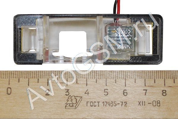 SPARK тип A CI1Штатные камеры заднего вида<br>NTSC для CITROEN Triomphe  с видеоматрицей 0,02 LUX. Видеокамера заднего вида тип A CI1 предназначена для установки в штатное место автомобиля CITROEN Triomphe  вместо фонаря освещения номерного знака. Камера сПАРК (SPARK) тип A CI1 имеет световую чувствительность матрицы равную 0,02 LUX, что отличает ее от ближайших конкурентов, световая чувствительность которых не превышает 0,2 LUX. Наличие парковочных линий поможет Вам легко припарковаться.<br>