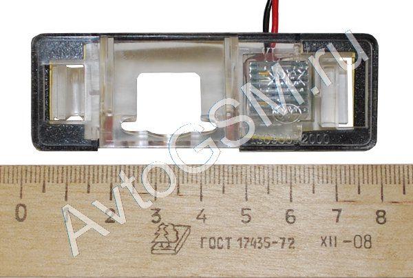 SPARK крепление CI1Комплектующие к камерам заднего вида<br>. Данное крепление предназначено для совместного использования с камерой заднего вида сПАРК (SPARK) (тип A, В, С, D). С помощью данного крепления Вы сможете установить камеру заднего вида в штатное место Вашего автомобиля вместо фонаря освещения номерного знака.<br>