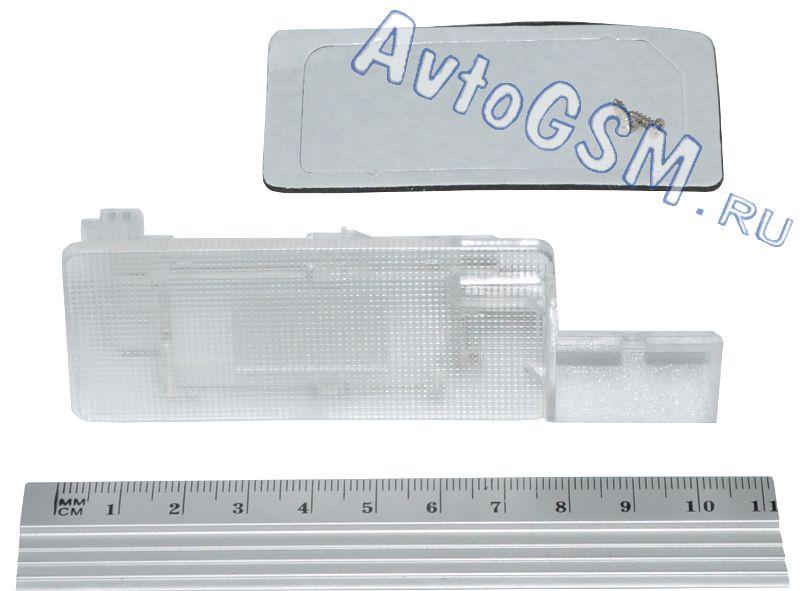 SPARK крепление V6Комплектующие к камерам заднего вида<br>. Данное крепление предназначено для установки камеры заднего вида Спарк (Spark) тип A, В, С, D в штатное место автомобиля Volkswagen Passat (2011+), Golf (2009+), Jetta (2011+), Touareg (2012), Polo (2012+) вместо фонаря освещения номерного знака.<br>