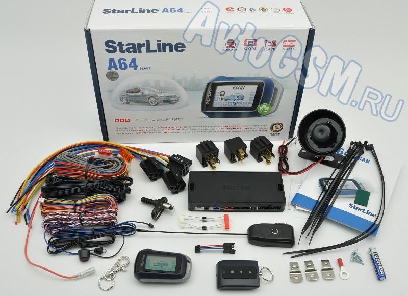 StarLine А64