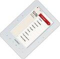 Электронная книга TeXet TB-500HD (белый корпус) с 5-дюймовым TFT-дисплеем, воспроизведением HD-видео и музыки, встроенным радио, диктофоном, динамиком, англо-русским словарем