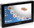 GPS-навигатор TeXet TN-507 с 4.3-дюймовым дисплеем, ультратонким корпусом, памятью 2 Гб + ПО CityGuide версия 3.X