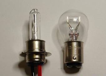 Двухконтактная лампа своими руками