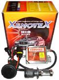Мото-биксенон Xenotex H4 6000K с корейской лампой